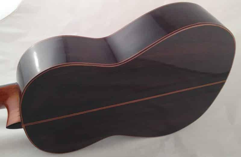 Guitarra esteso 1945 fondo