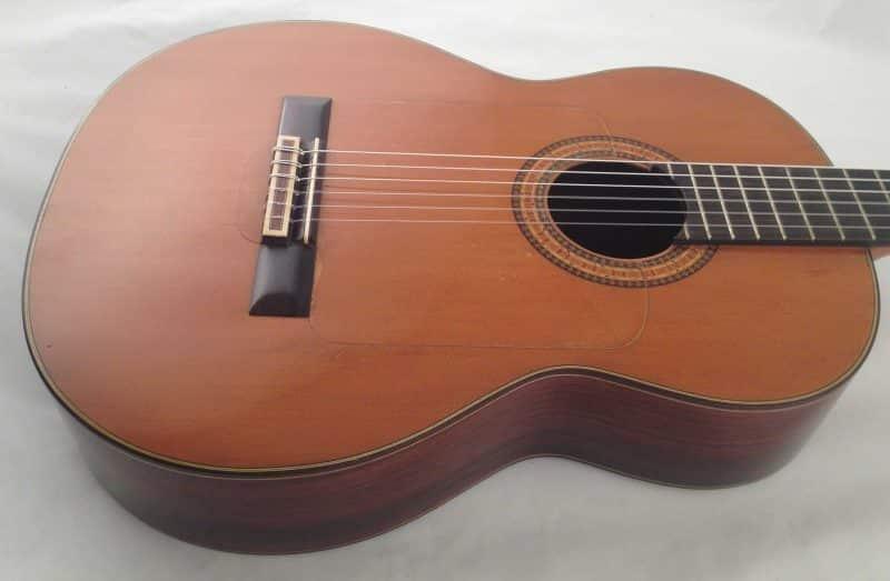 Guitarra Gerundino 1982 Tapa Lateral