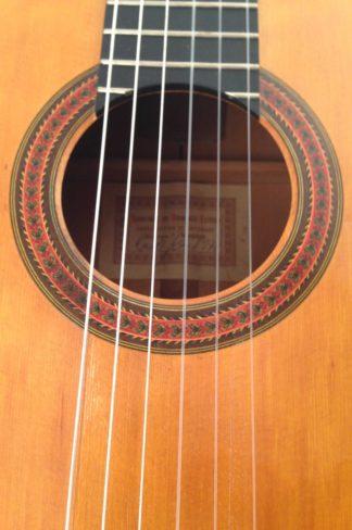 Guitarra Flamenca Hermanos Conde 1970 Roseta