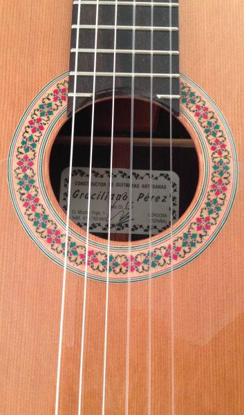 Guitarra Flamenca Graciliano Perez 2015 Roseta