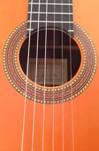 Guitarra Flamenca Hermanos Conde 1990 Roseta