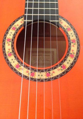 Guitarra-flamenca-Hermanos-Conde 1998 roseta