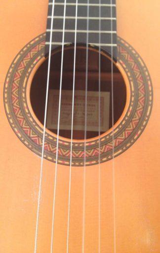 Guitarra flamenca Hermanos Conde 2001 roseta