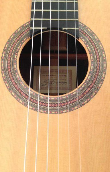Guitarra flamenca Hermanos Conde 1999 roseta