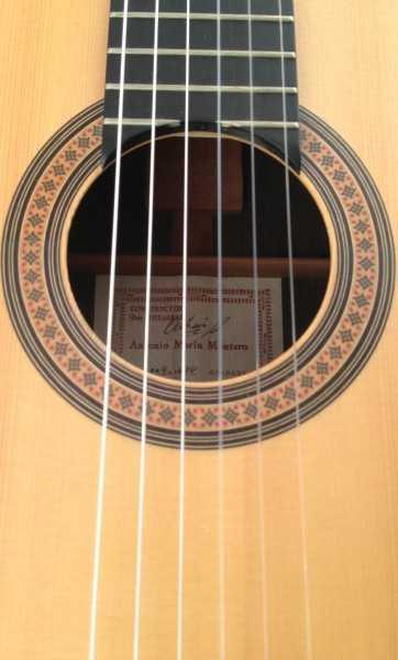 Guitarra flamenca Antonio Marin Montero 2009 roseta