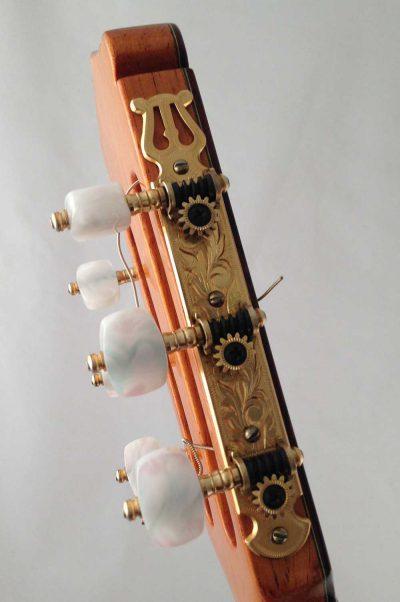 Guitarra Clasica Vicente Carrillo 1995 clavijero
