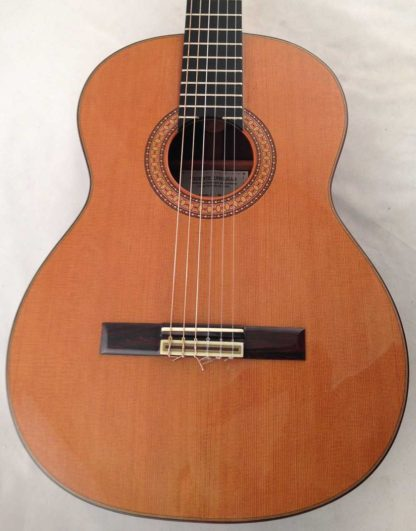 Guitarra clasica Vicente Carrillo 1995 tapa