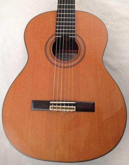 Guitarra clasica Vicente Carrillo 1995 tapa