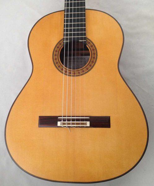 Guitarra flamenca Manuel Reyes hijo 2010 tapa