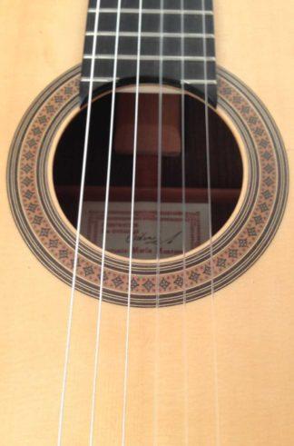 Guitarra flamenca Antonio Marín Montero 2015 roseta