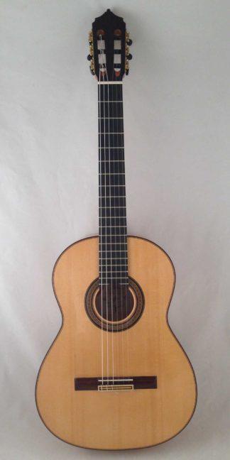 Guitarra flamenca José Antonio Fuentes 2016 frontal
