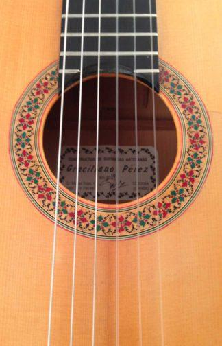 Guitarra flamenca Graciliano Pérez 2009 roseta
