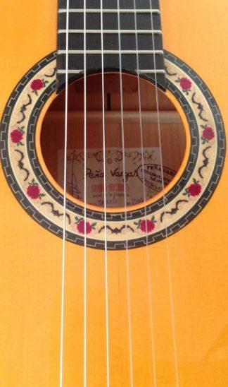 Guitarra flamenca David Peña Vargas 2016 roseta