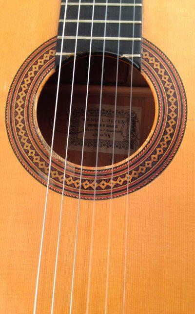 Flamenco-guitar-Manuel-Reyes-1974